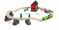 BRIO trein Treinset paarden 33790