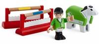 Brio houten trein accessoire Concours trainingsset 33795-1