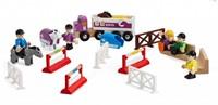 Brio  houten trein accessoire Concours set 25 delig - 33796-1