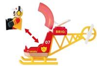 Brio  houten trein accessoire Rescue Helicopter 33797-2