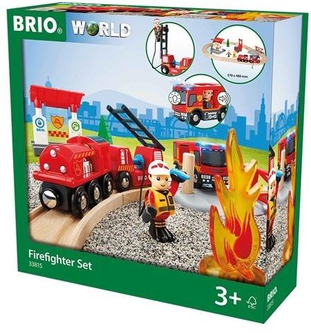 BRIO trein Treinset bij de brandweer 33815-3