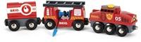 BRIO trein Trein van de brandweer 33844-1