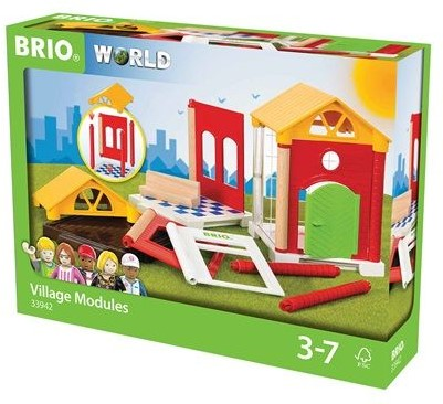 Brio  speelstad gebouw Uitbreidingsset huis 33942-2