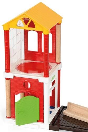 Brio  speelstad gebouw Uitbreidingsset huis 33942-3