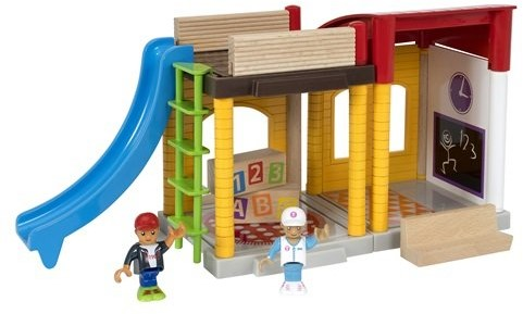 Brio  speelstad gebouw School speelset 33943-2
