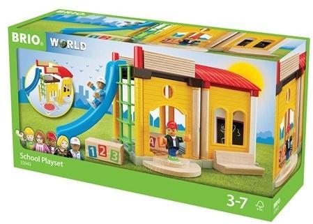 Brio  speelstad gebouw School speelset 33943-3