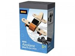 Brio  houten constructie speelgoed Builder Mini vliegtuig 34558