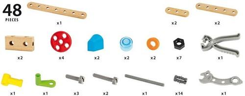 Brio  houten constructie speelgoed Builder Gereedschapskist starter set 34586-2