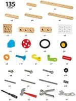 Brio  houten constructie speelgoed Builder Constructie set 34587-3