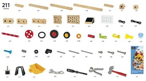 Brio  houten constructie speelgoed Builder Activiteiten set 34588-3