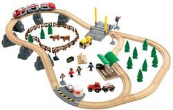 Brio  houten trein set Grote plattelandset 33155