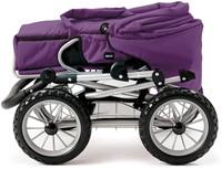 BRIO speelgoed Poppenwagen Combi - Donkerpaars-3