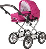 BRIO speelgoed Poppenwagen Combi - Roze-1
