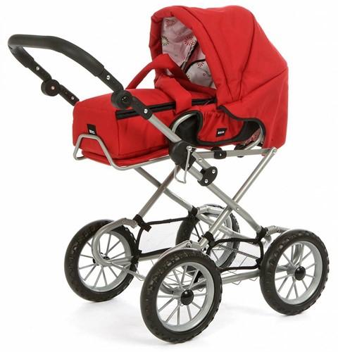 BRIO speelgoed Poppenwagen Combi - Rood-1