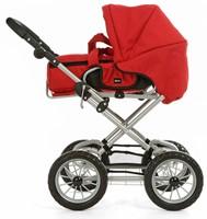 BRIO speelgoed Poppenwagen Combi - Rood-3