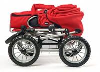 BRIO speelgoed Poppenwagen Combi - Rood-2