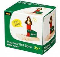 Brio  houten trein accessoire Magnetisch belsignaal 33754-2