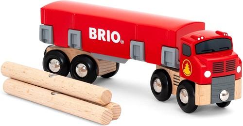 BRIO Houttransportvrachtwagen - 33657