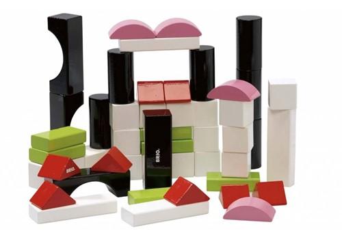 Brio houten bouwblokken 50 stuks 30156-1