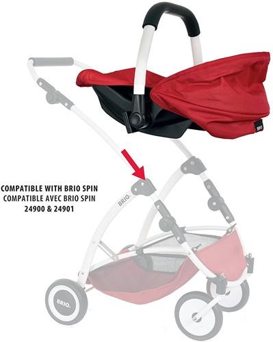 Brio poppen draagstoeltje voor Poppenwagen Spin-3