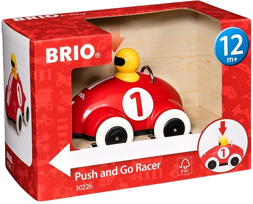 BRIO Push & Go Race auto -30226-3