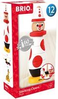 BRIO speelgoed Stapelclown 60 jaar
