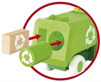 BRIO speelgoed Vuilniswagen - 30278-2