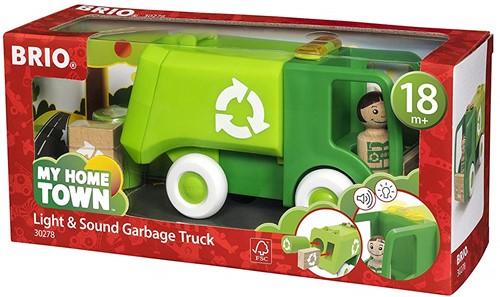 BRIO speelgoed Vuilniswagen - 30278-3