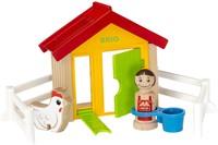 BRIO speelgoed Kippenhok-2