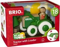 BRIO speelgoed Tractor met voorlader