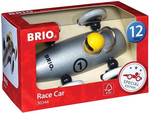 BRIO Special Edition Metalic Silver Race Car (8pc display)
