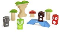 BRIO speelgoed Bosdierenblokken-2