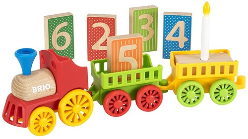 Brio  houten trein Deluxe Birthday Train