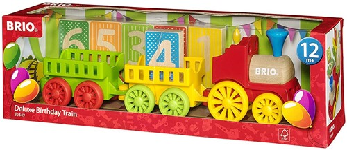 Brio  houten trein Deluxe Birthday Train-2