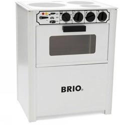 Brio  houten keukentje Oven wit