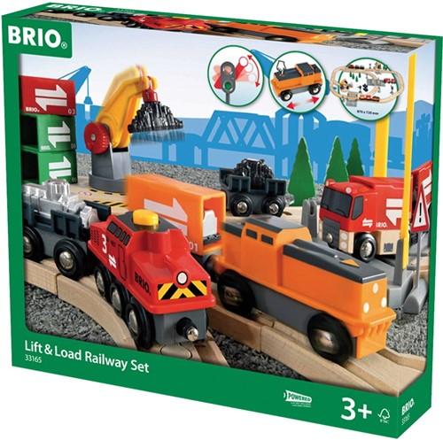 BRIO treinset Laden en lossen - 33165-3