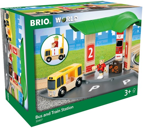 BRIO Bus en treinstation - 33427