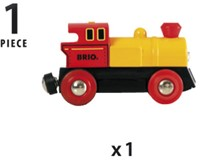 BRIO trein Locomotief op batterijen 33594