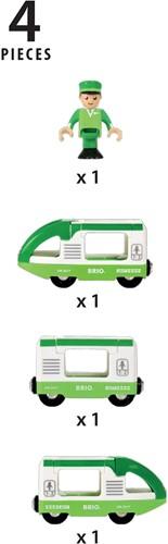 BRIO trein Groene trein 33622-3