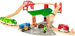 Brio houten trein set Travel Station set 33627