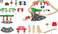 Brio houten trein set Travel Station set 33627-3