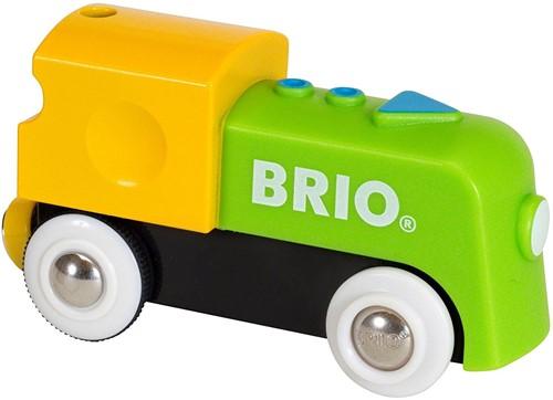 BRIO Mijn eerste locomotief op batterijen - 33705
