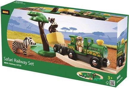 Brio  houten trein set Safari treinset 33720-3