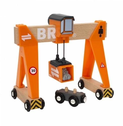 BRIO trein Container laadkraan 33732