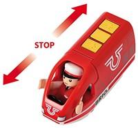 BRIO trein Oplaadbare rode passagierstrein met USB kabel 33746