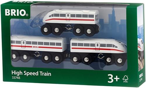 BRIO trein Hogesnelheidstrein met geluid 33748-2