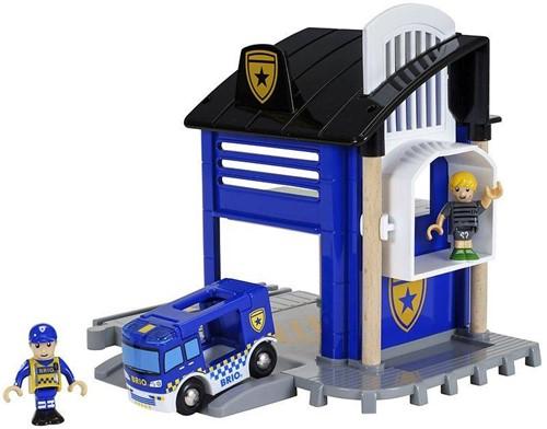 BRIO Police Station light & sound
