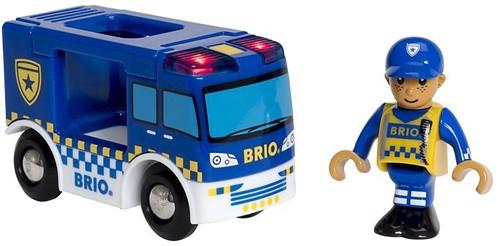 BRIO Police Van light & sound