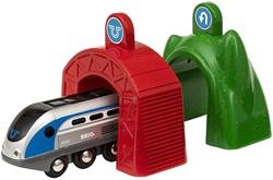 BRIO trein SMART locomotief met actietunnels 33834