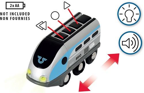 BRIO trein Smart Tech locomotief met actietunnels 33834-2